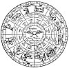 HIEROGLYPHIC PLAN, By HERMES, OF THE ANCIENT ZODIAC.